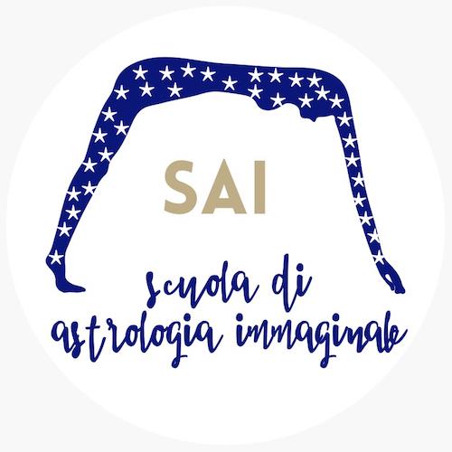 Logo SAI Scuola di Astrologia Immaginale, studio degli archetipi e sviluppo della Coscienza. Sede Durga Topos, direttore è filosofo ed esperto di archetipi Claudio Marucchi.